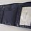 Thumbnail: Portefeuille bleu marine à chaînette dorée