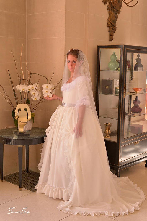 Robe de mariée collection Félicité de Genlis