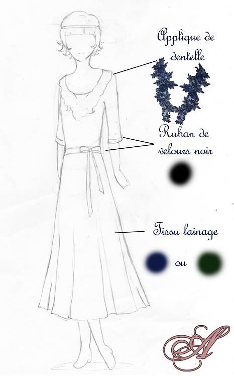 acompte robe