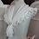 Thumbnail: Modestie en mousseline broche fleur mousseline