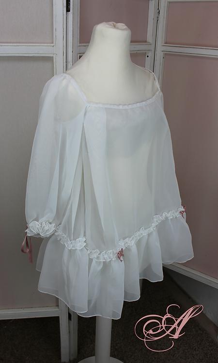 Chemise sous corset avec manches