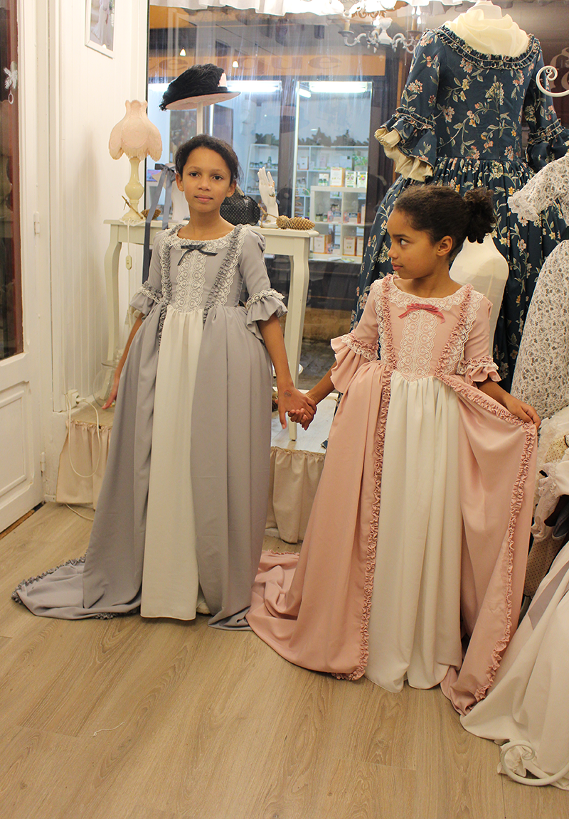 Robe collection Louise-Elisabeth et