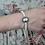 Thumbnail: Bracelet camée et perles support nickel