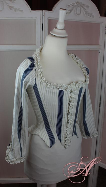 Buste corseté collection Marie Harel sans noeud