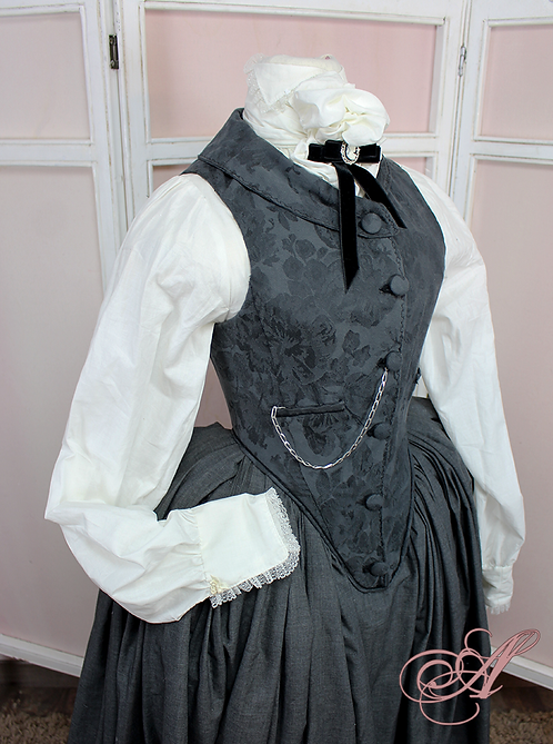 Veston corseté collection George Sand