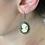 Thumbnail: Boucles d'oreilles camée bronze