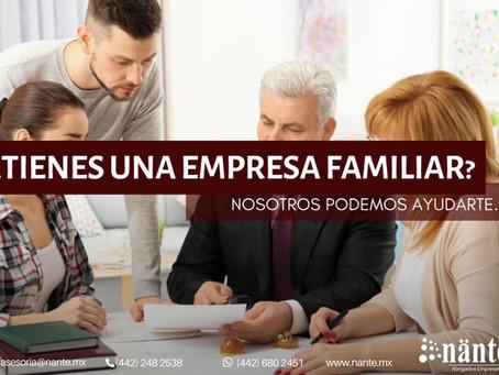 ¿Tienes una empresa familiar?