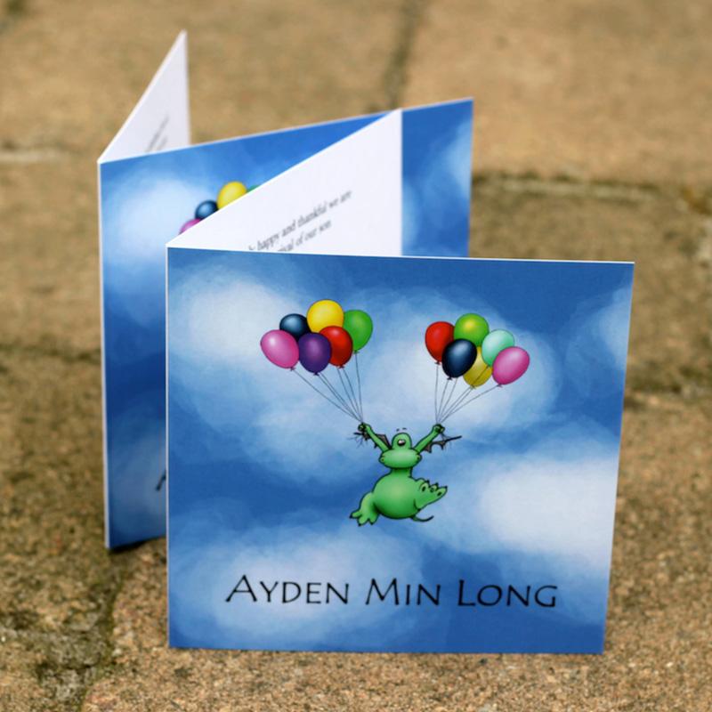 Poef-ballonnen-geboortekaartje