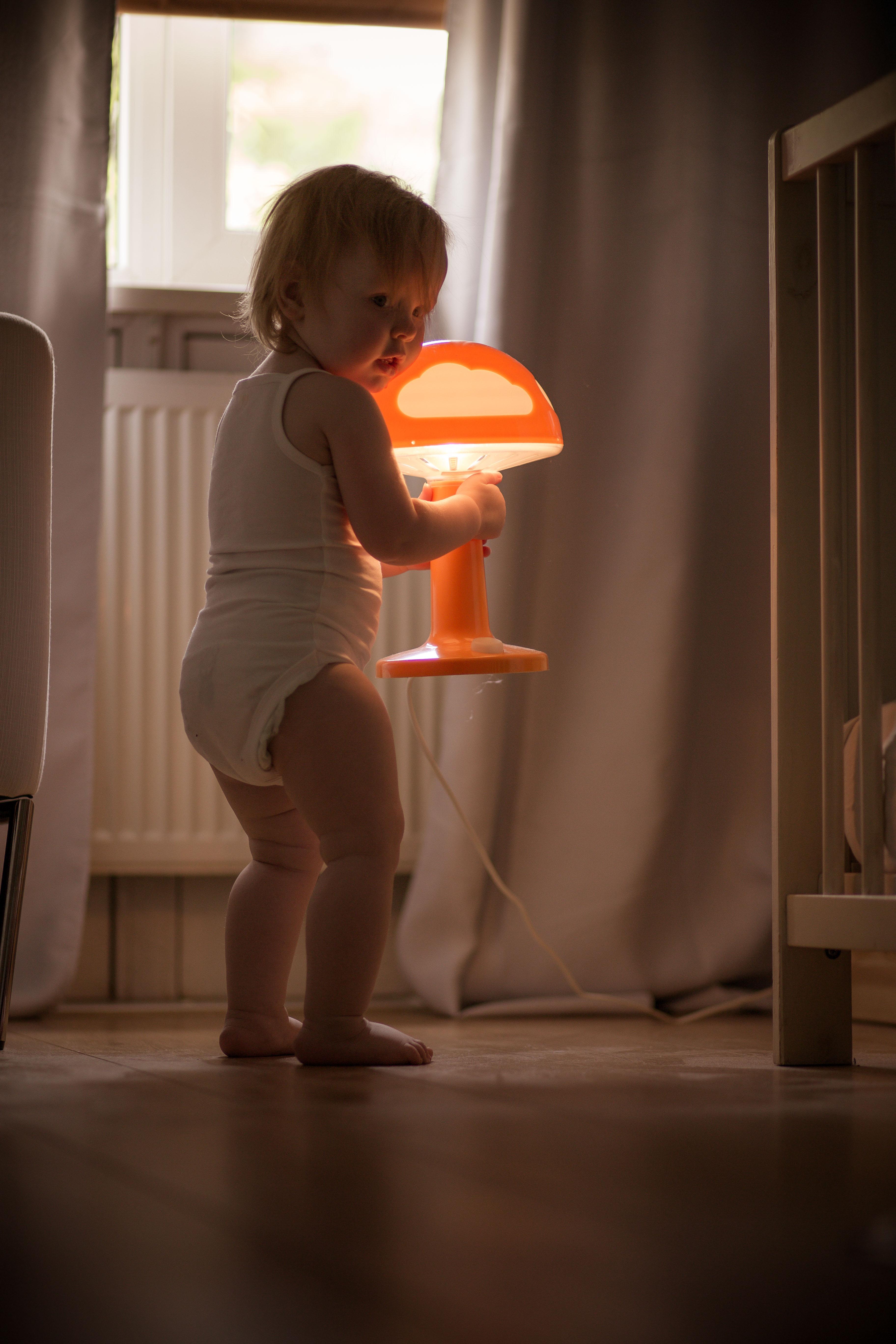 Mijn lamp!