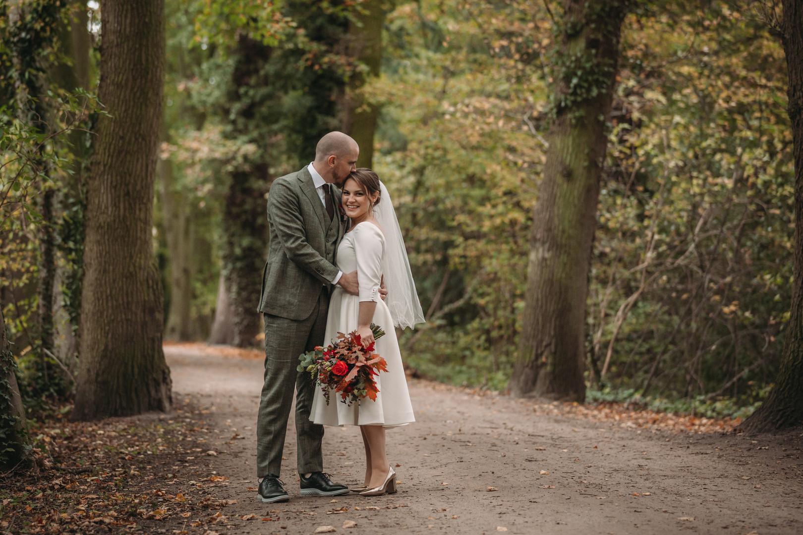tessart bruidsfotografie herfstbruiloft