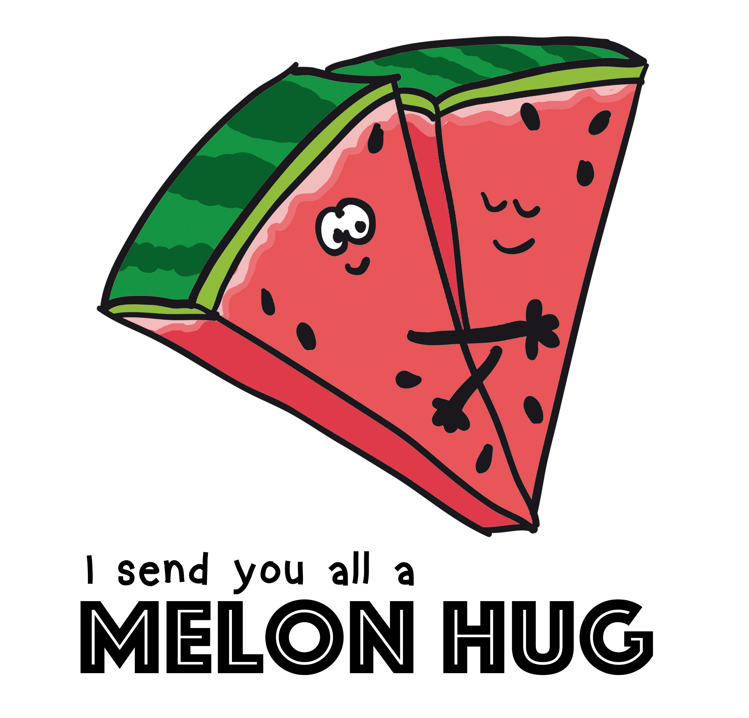 send you all a melon hug