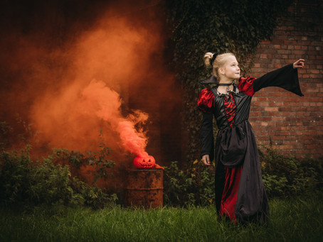 Halloween Rookbom Fotoshoot