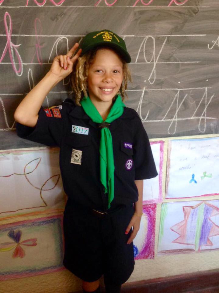 Cub at the New Muizenberg School