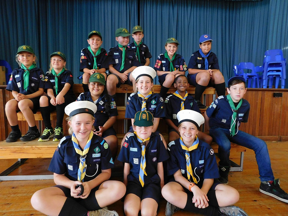 Cubs and Scouts at Kirstenhof Primary