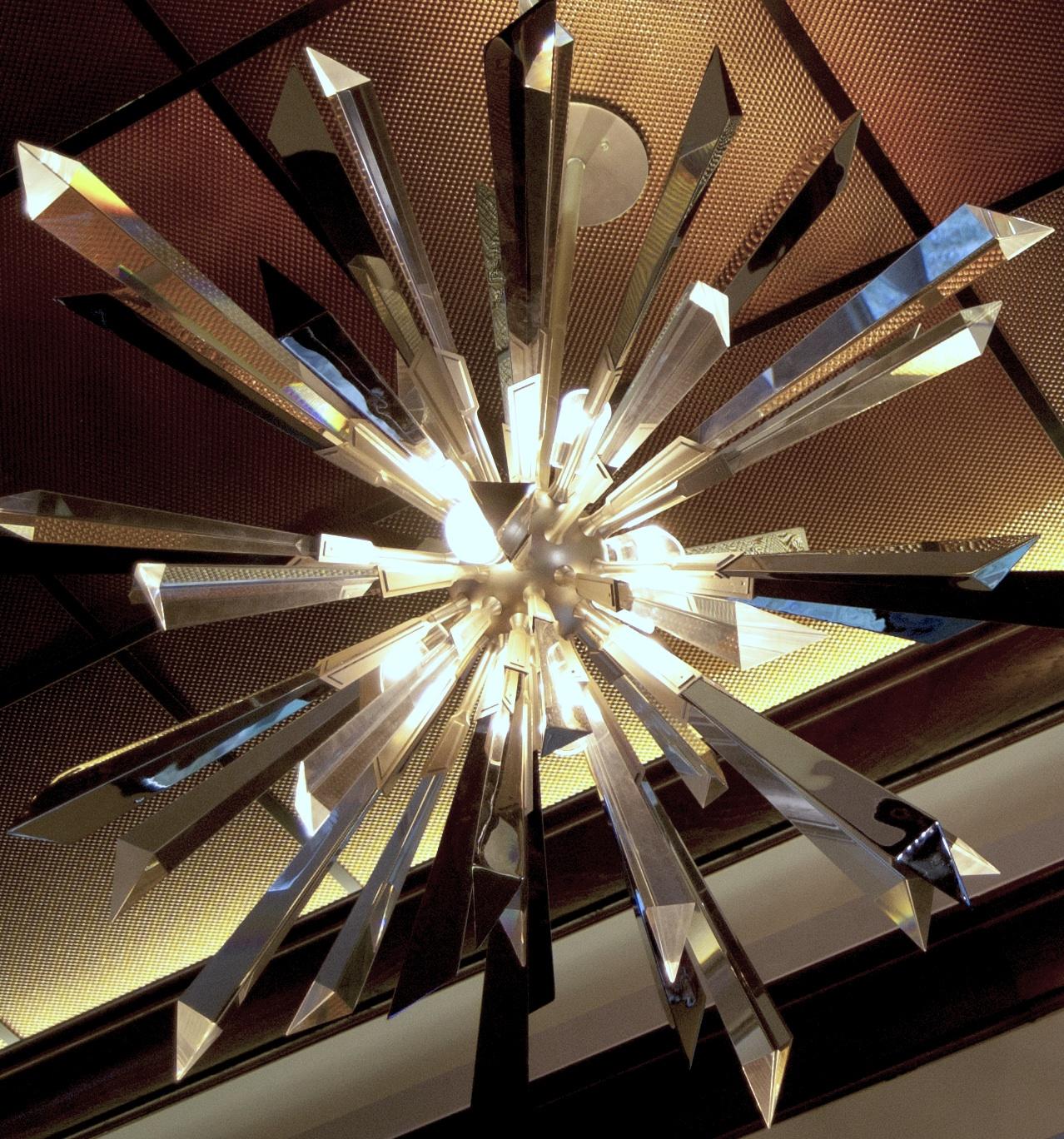 KD's chandelier