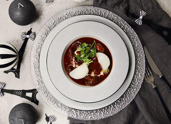 ビーフシチュー&オニオングラタンスープ