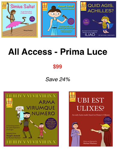 All Access - Prima Luce - Homeschool
