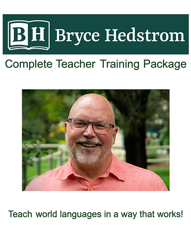 Bryce Hedstrom Complete Teacher Training Package