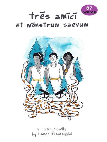 12 - tres amici et monstrum saevum