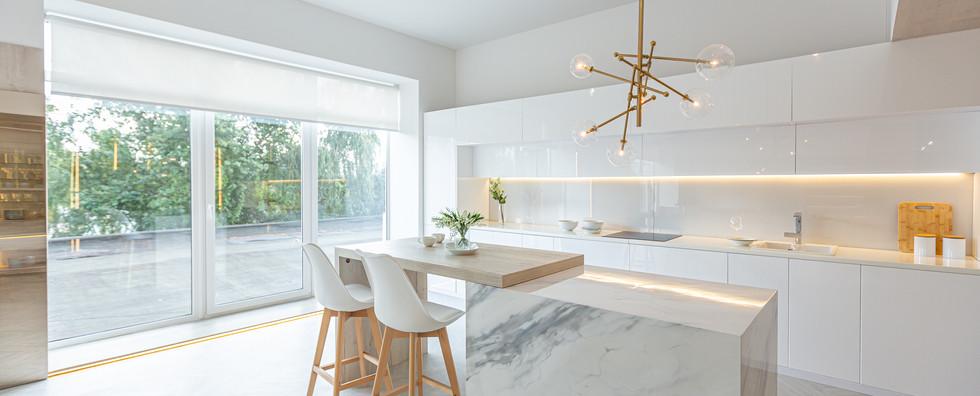 luxury interior design of modern trendy