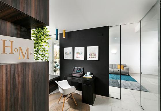 דירת 5 חדרים עם  חלל מרכזי רב תכליתי