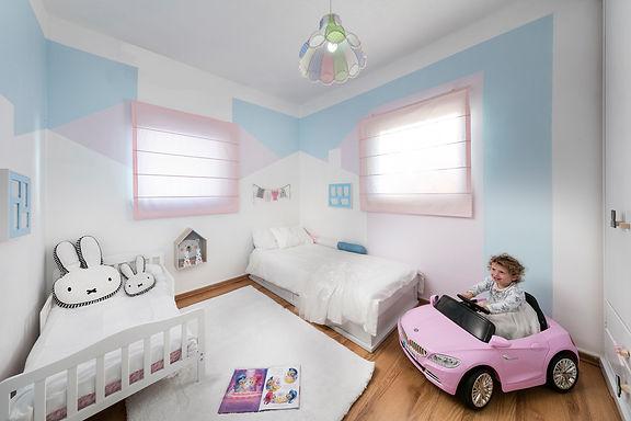 חדר חלומי לשתי בנות