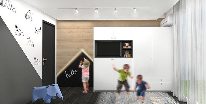 חדר שילדים אוהבים
