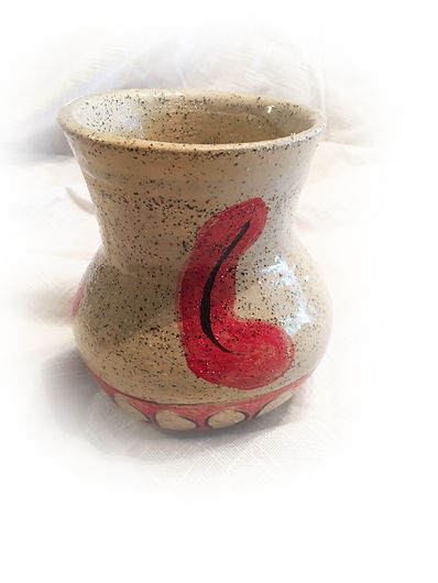 stoneware vase with red motif 3 cropped.