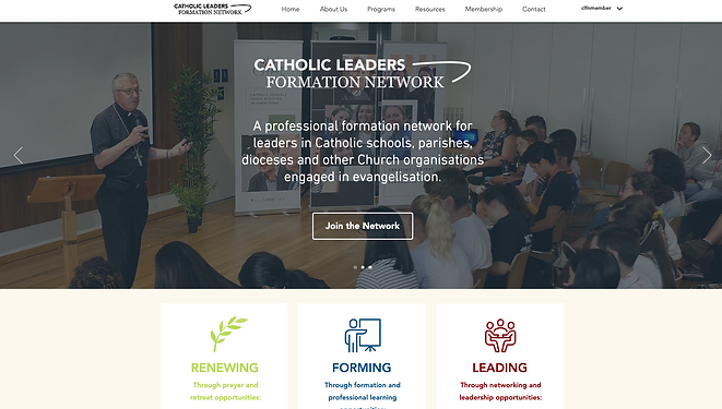 Catholic Leaders Formation Network