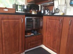 Leopard 46 custom kitchen