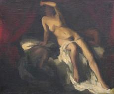"Eugene Delacroix,  ""Judith and Holofernes"""