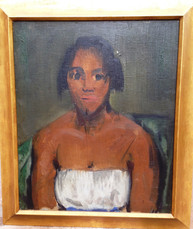 George Bellows, Young Negro Woman