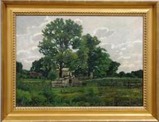 Thomas Eakins, Farm Landscape, Gloucester, NJ