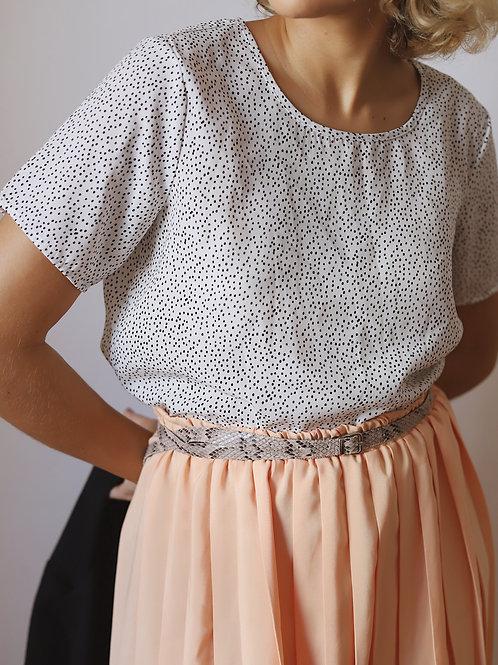 camisa flocos (P)