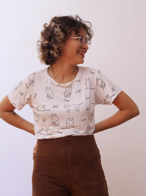 camisa cat mood (M)