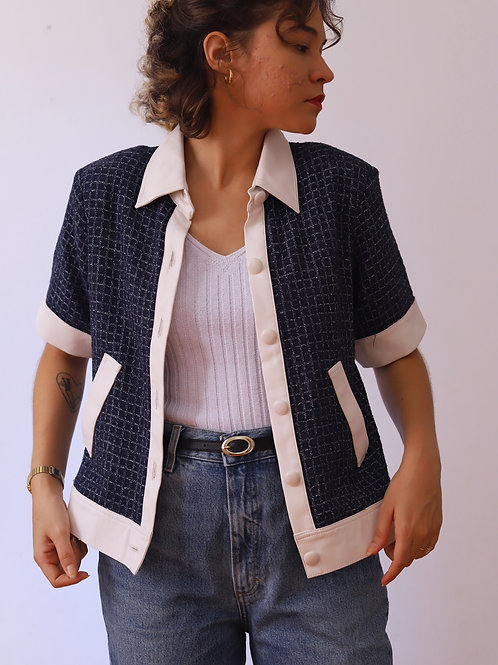 camisa tweed (M)