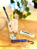 lifestyle retractable straw set