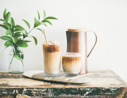 pro coffee iced plant _pitcher of iced c