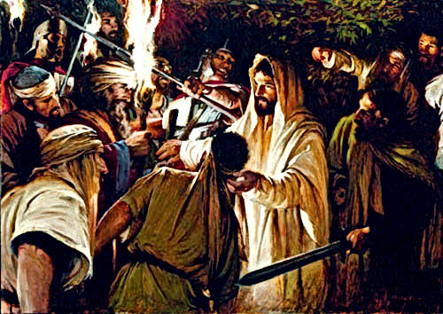 Jesus came 2000 years ago to save our eternal lives, not destroy men lives