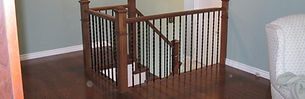 Wood/Iron Railings and spindels
