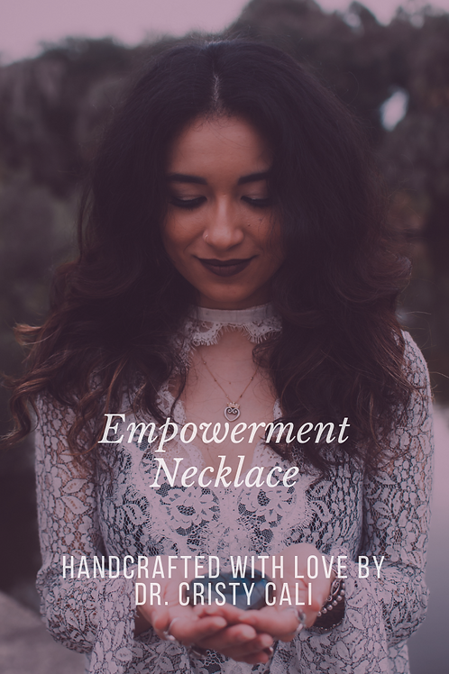 Dr. Cali's Empowerment Necklace Experience