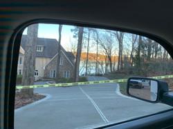 lakefront driveway