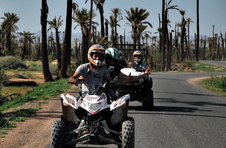 Quad et buggy Marrakech palmeraie avec la MAISON PALMA MARRAKECH