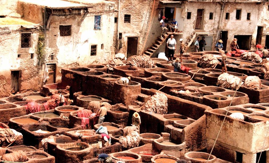 Marrakech: Le souk des tanneurs à visiter pendant votre séjour de vacances