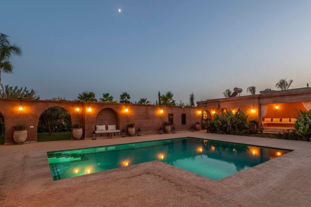 Villa for rent in Marrakech