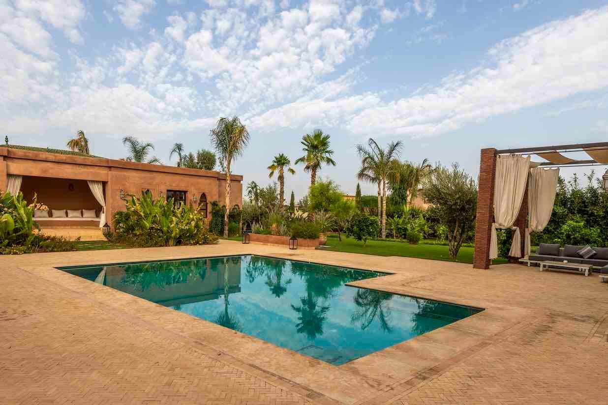 Location villa marrakech vacances