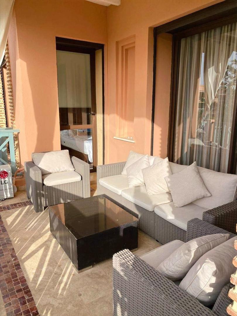 A vendre appartement meublé sur Marrakech