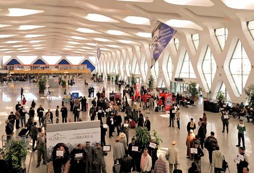 Aéroport de Marrakech: Le coupe file