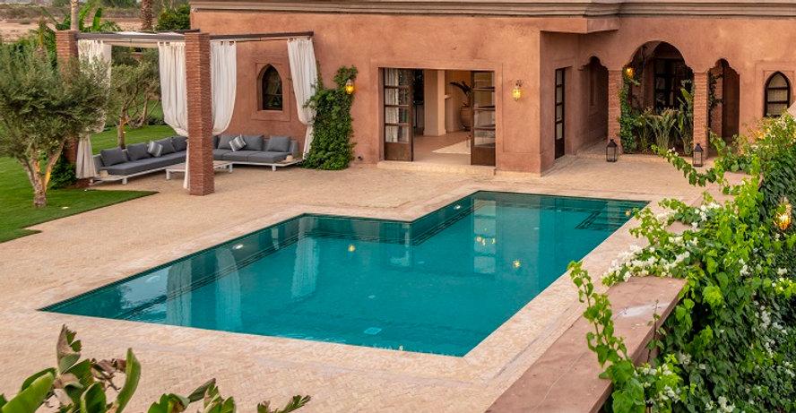 Location meublée de vacances à Marrakech