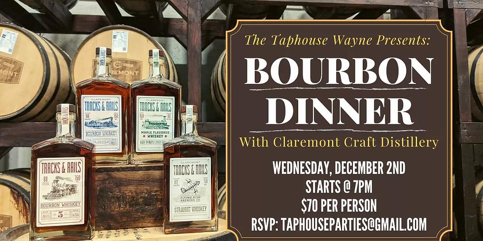 Bourbon Dinner with Claremont Craft Distillery